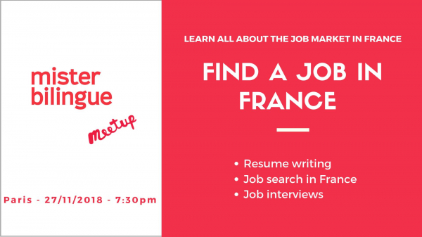 How to find a job in France?